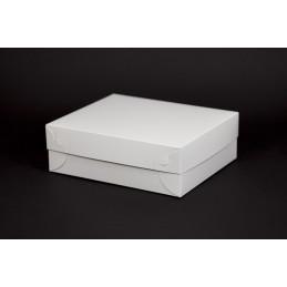 Pudełko na ciastka z pokrywką 230x190x75