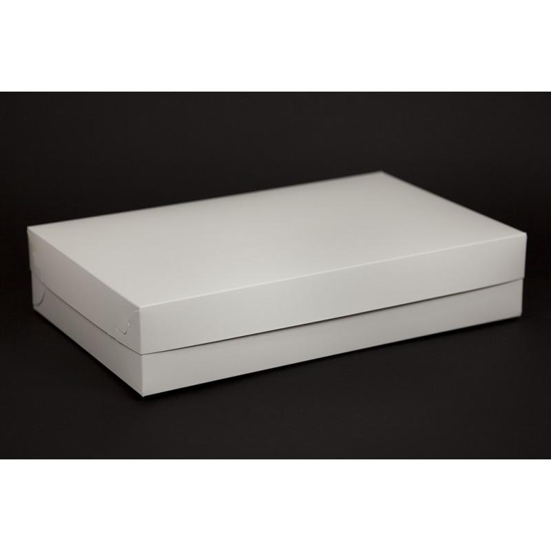 Pudełko na ciastka z pokrywką 370x230x75