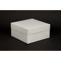 Pudełko na ciastka i torty z pokrywką 220x220x110