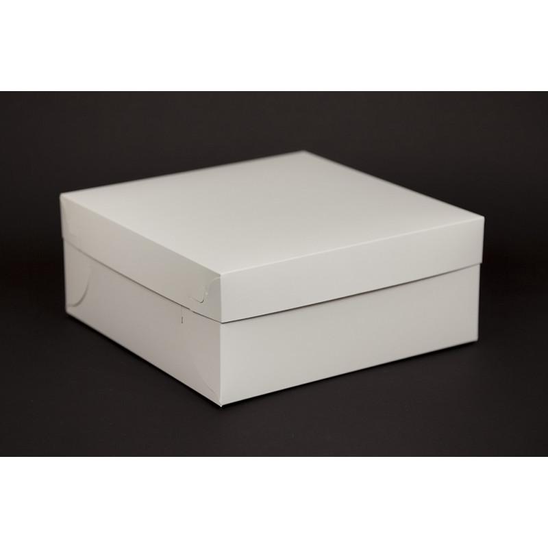 Pudełko na ciastka i torty z pokrywką 260x260x110