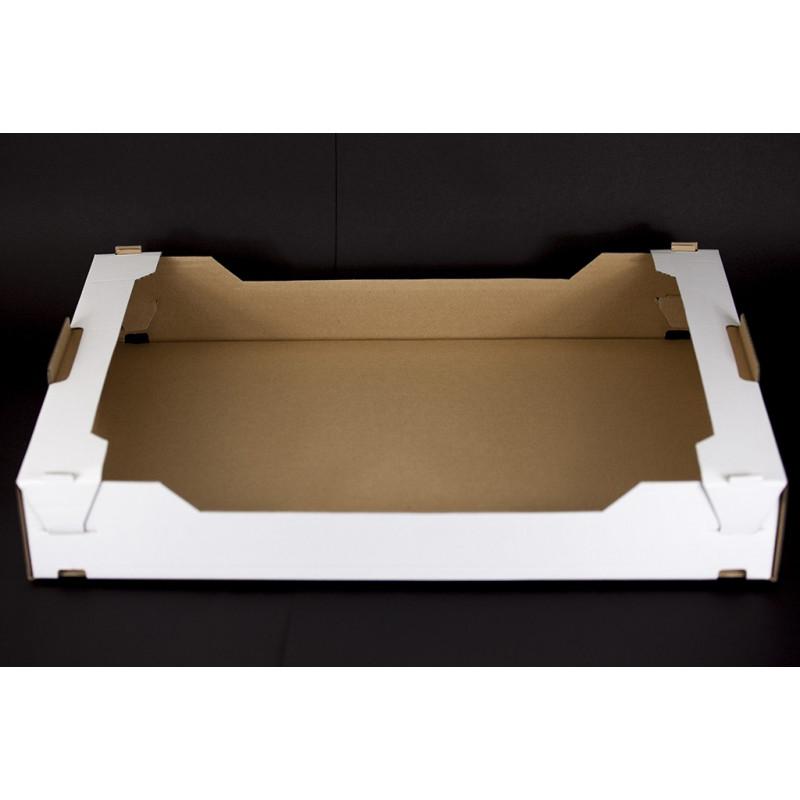 Tacka tekturowa cukiernicza - kontener 600x400x90