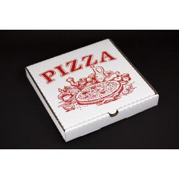 Pudełko na pizzę 250x250x40mm