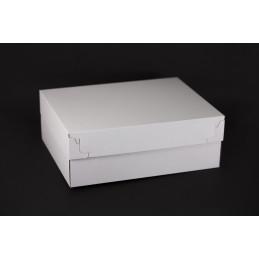 Pudełko na ciastka i torty z pokrywką 420x320x150