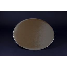 Złote podkłady pod torty średnica 22 cm