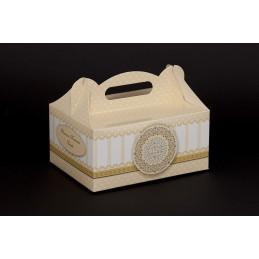 Pudełko komunijne 190x140x90 nadruk uniwersalny + wkładka