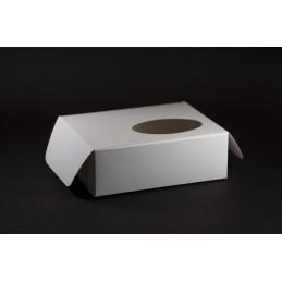 Pudełko na ciastka z okienkiem 205x170x70