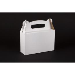 Opakowanie prezentowe  z rączką 210x70x133 białe