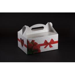 Pudełko na ciastka weselne 190x140x90 + wkładka