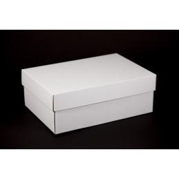 Pudełko na ciastka i torty z pokrywą 33x23x12cm