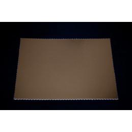 Złote podkłady pod torty i ciasta - 40x30cm, tektura introligatorska 2mm