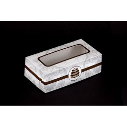 Pudełko na ciastka 20x11x6,5cmm z nadrukiem kolorowym