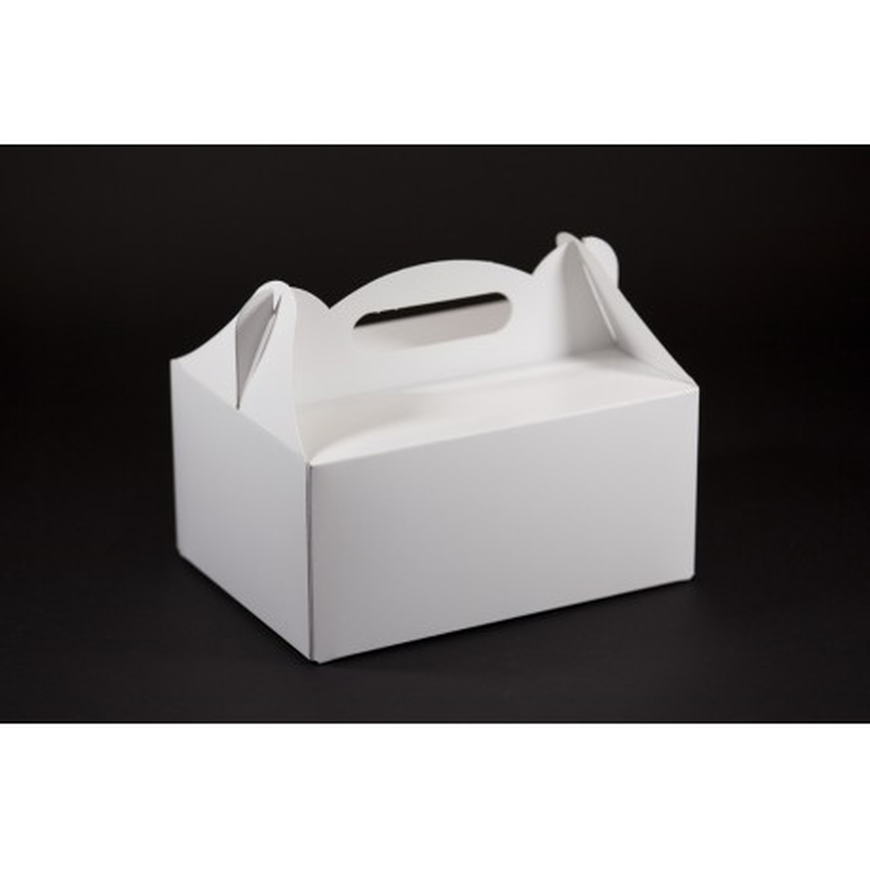 Opakowanie weselne - białe 190x140x90