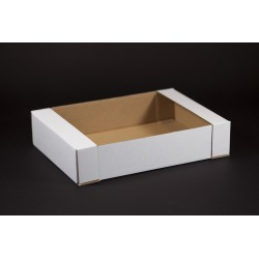 Tacka tekturowa cukiernicza - kontener 250x180x50