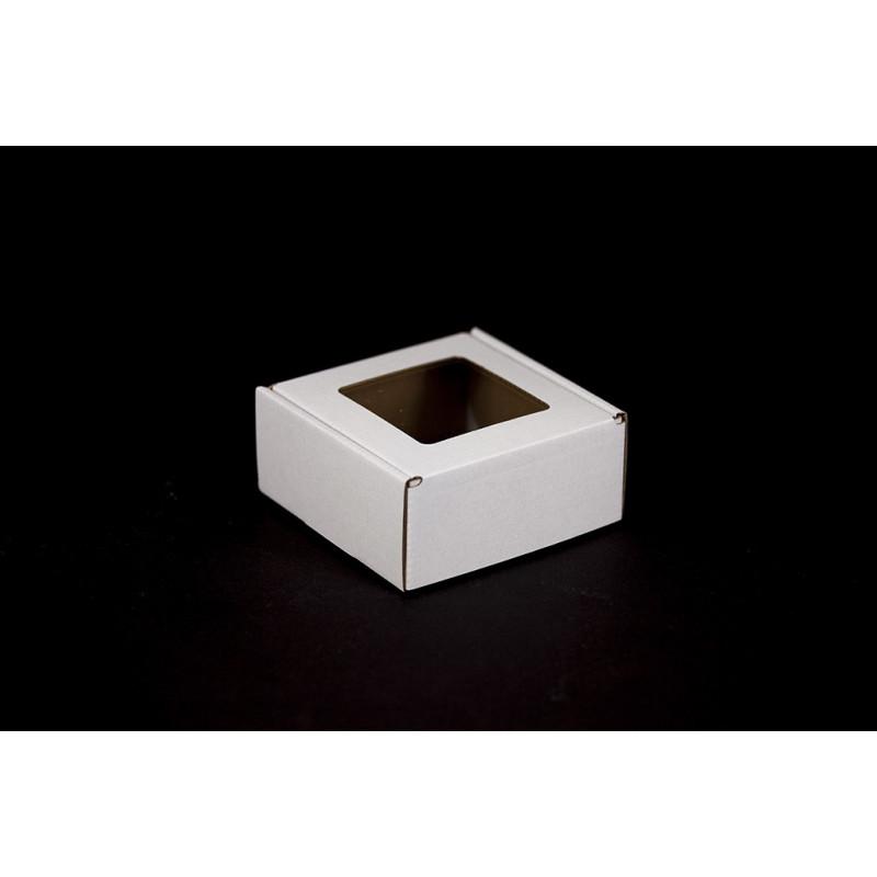 Pudełko na mydełko białe - 110x110x50mm