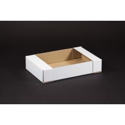 Tacka tekturowa cukiernicza - kontener 200x130x40
