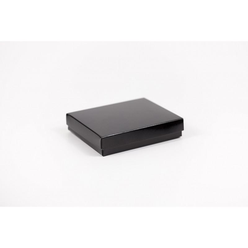 Opakowanie na portfel - czarne 13,5x11x3cm