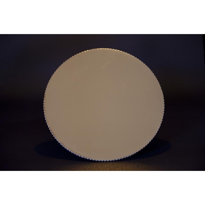 podkłady pod torty - okrągłe złote