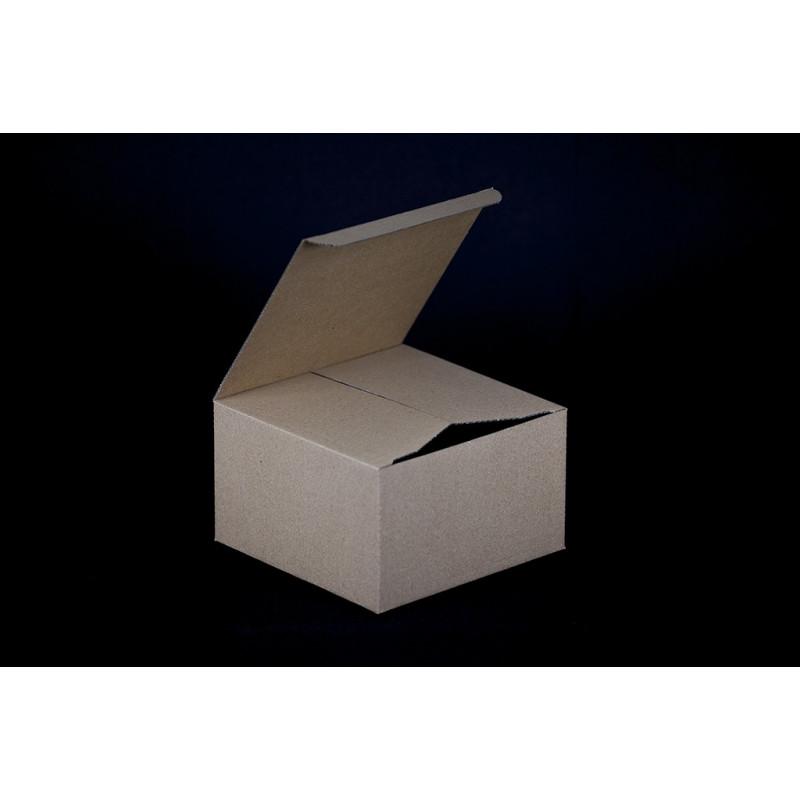 pudełko na filiżankę - 150x150x90mm brązowe